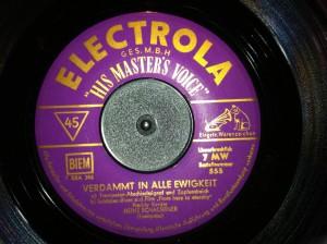 Label aus den 50er Jahren: Was man durfte, stand im Kleingedruckten