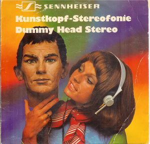 Talk to my ears - sleeve of the legendary Sennheiser 45's demo