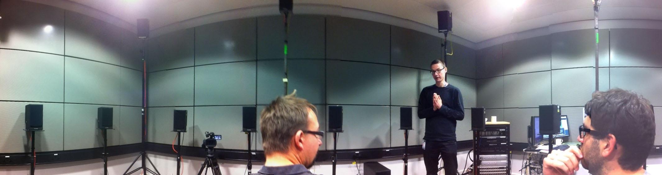 24.2. Abhöranlage im BBC R&D listening room