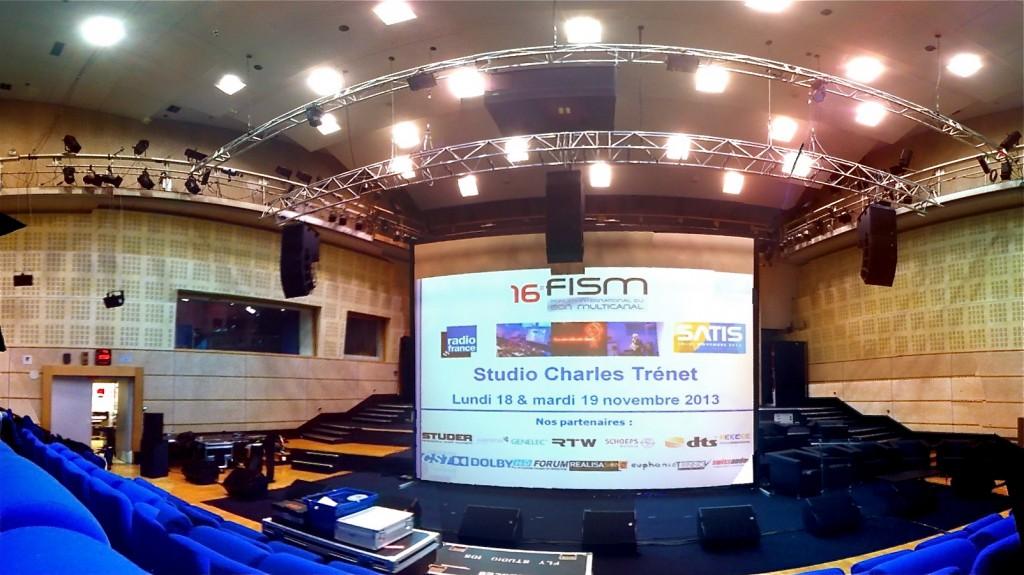 FISM 2013 @Radio France Studio 105 - WFS Sound