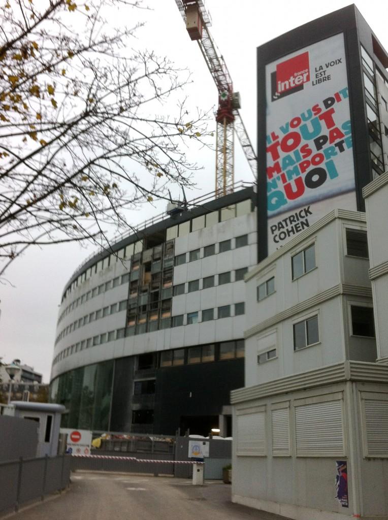 Baustelle Maison der Radio France