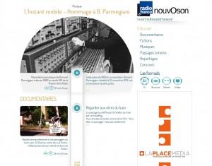 Nouvoson-Website